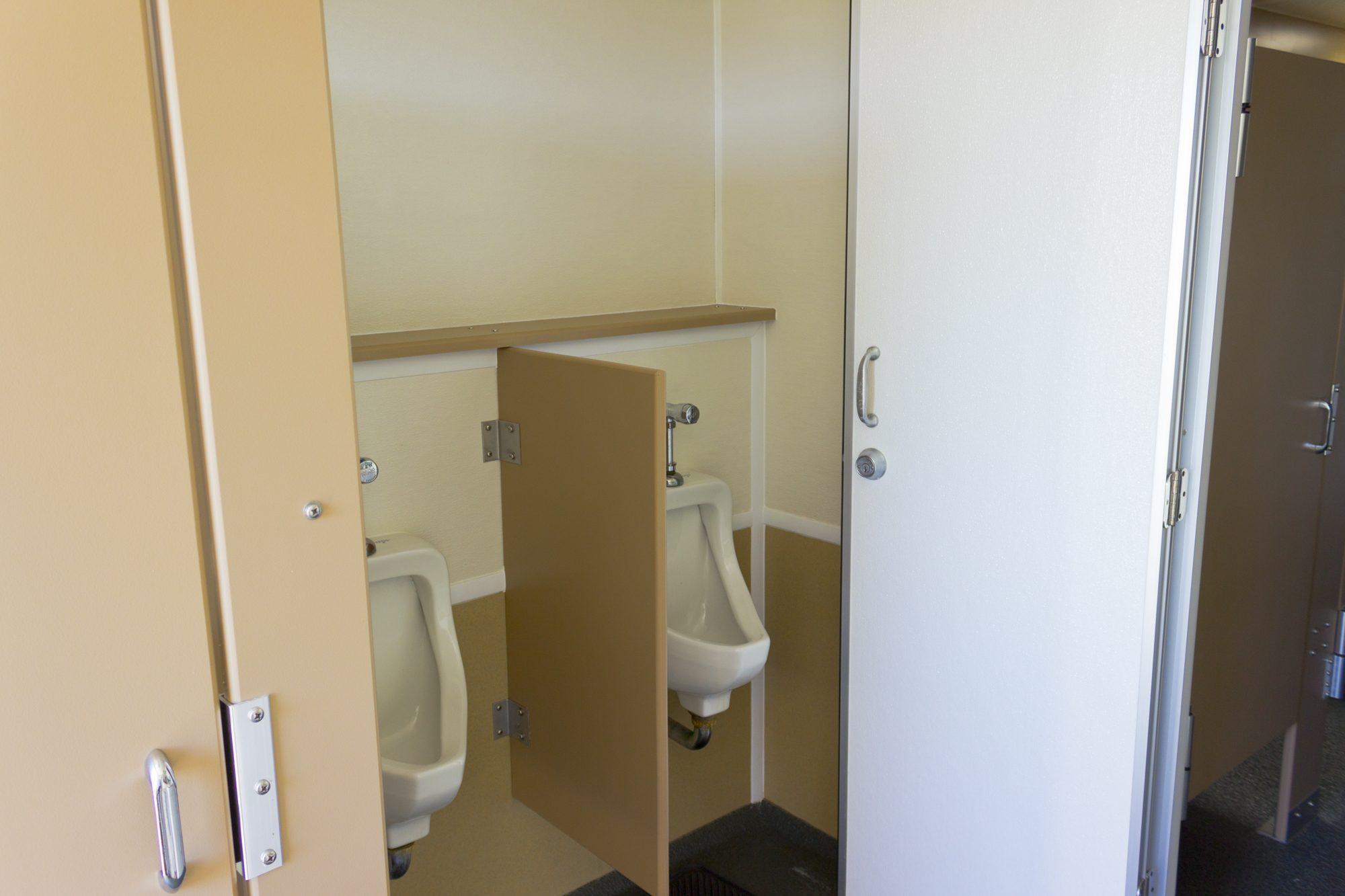 VIP restroom trailer inside 2